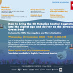 Event Announcement: How to bring the EU Fisheries Control Regulation into to digital age and deliver on the European Green Deal