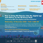 Event: How to bring the EU Fisheries Control Regulation into the digital age and deliver on the European Green Deal